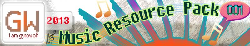 Gyrowolf's 2013 Music Resource Pack 001