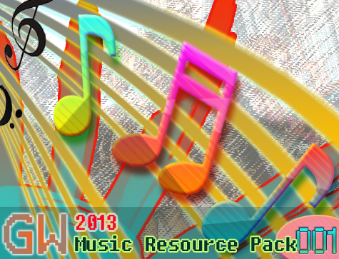 Gyrowolf's 2013 Music Resource Pack 001 Header Image