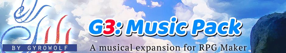 G3: Music Pack banner